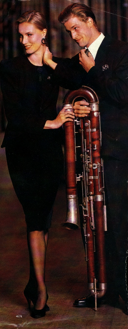 Sex & Contrabassoon: Ah yes, contrabassoon as chick magnet!